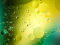 bright wallpaper with oil drops on water - PhotoDune Item for Sale