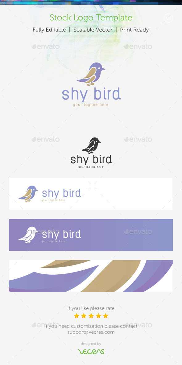 GraphicRiver Sky Bird Stock Logo Template 9322360