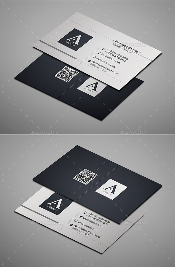 GraphicRiver Simple Business Card Vol IV 9322751