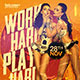 Work Hard Play Hard Flyer - GraphicRiver Item for Sale