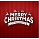 Christmas Calligraphy on Knitted Pattern - GraphicRiver Item for Sale