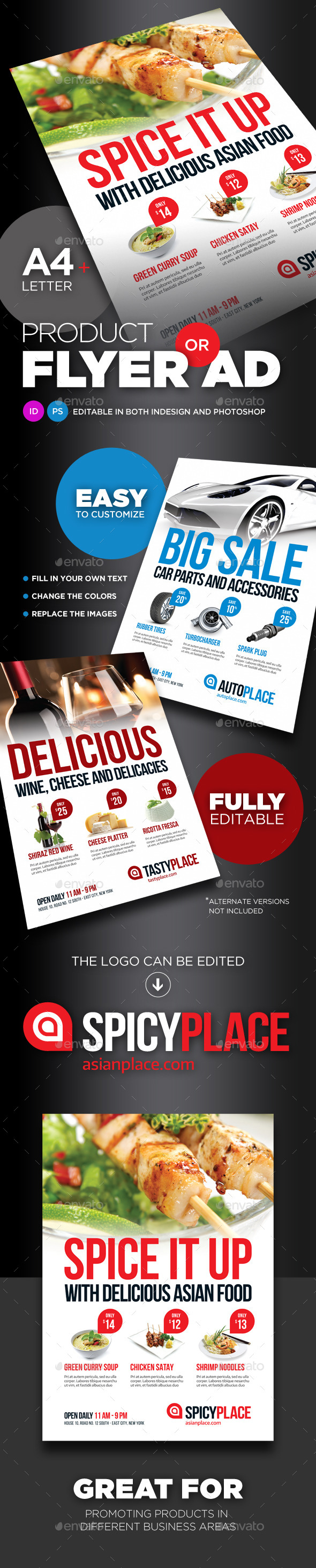 GraphicRiver Product Flyer Ad 9254799