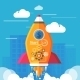 Business Start Up Rocket - GraphicRiver Item for Sale