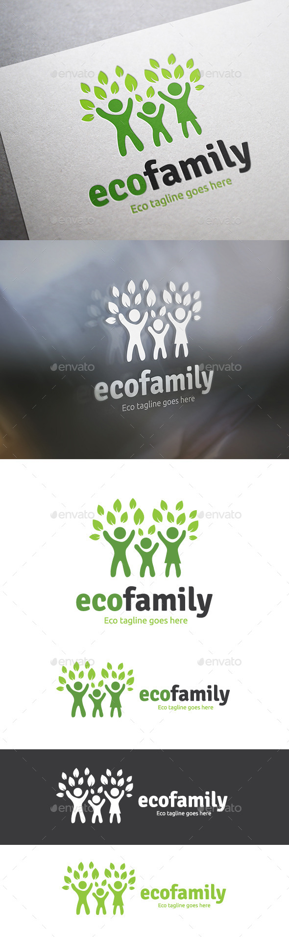 GraphicRiver Eco Family 9323262