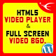 Video Player & FullScreen Video Bgd. - WP Plugin - CodeCanyon Item for Sale