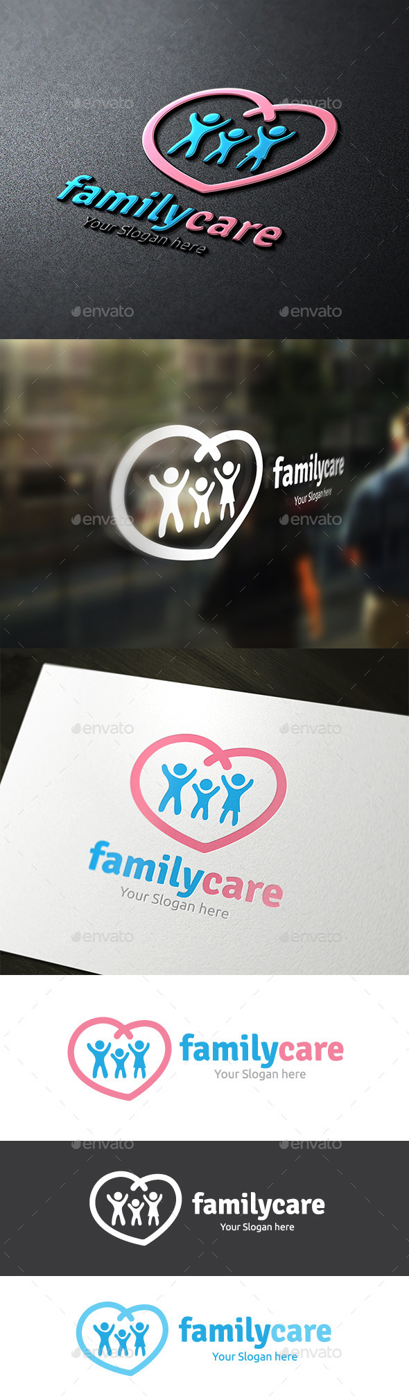 GraphicRiver Family Care 9323505
