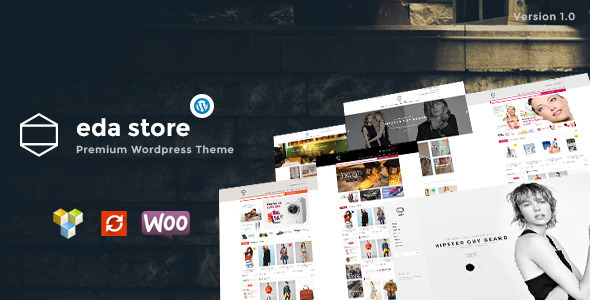 ThemeForest Eda Wordpress Woocomerce Theme 9269875