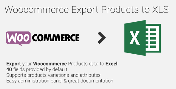 CodeCanyon Woocommerce Export Products to XLS 9307040