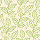 Seamless Pattern with Green Branches - GraphicRiver Item for Sale