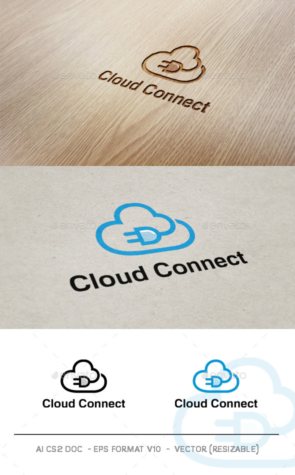 GraphicRiver Cloud Connect V2 9323800