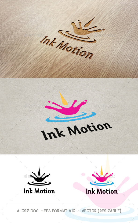 GraphicRiver Ink Motion v2 Logo 9323806