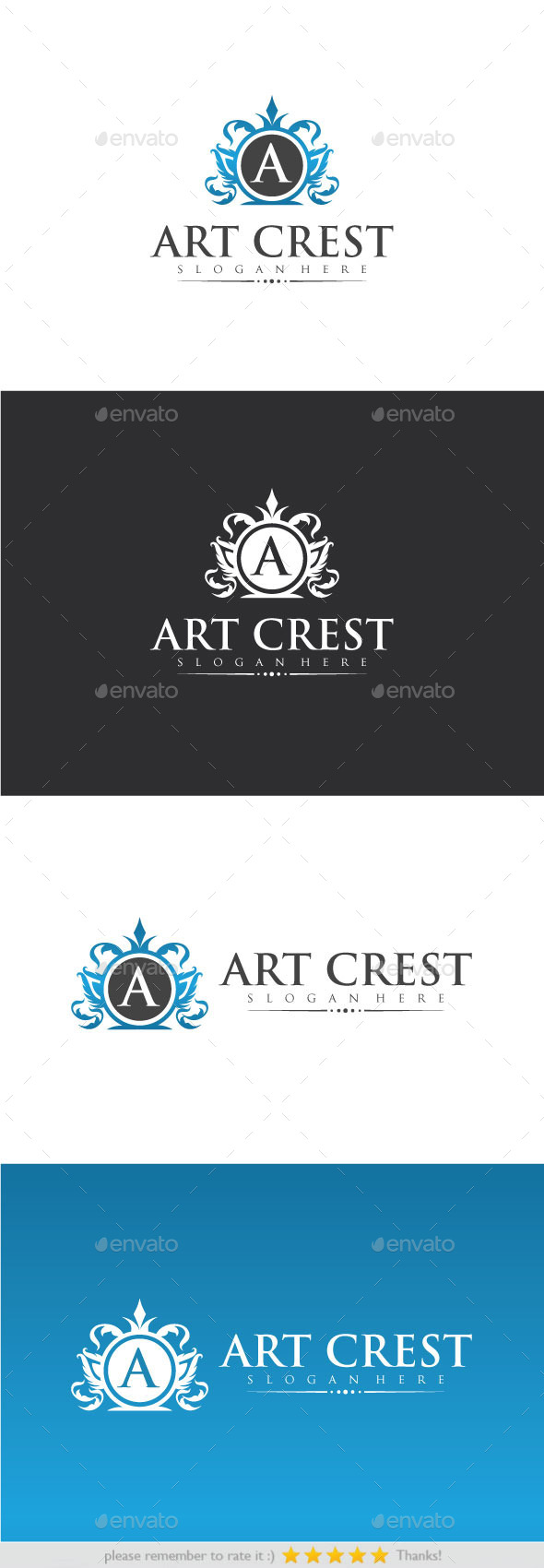 GraphicRiver Art Crest 9323829