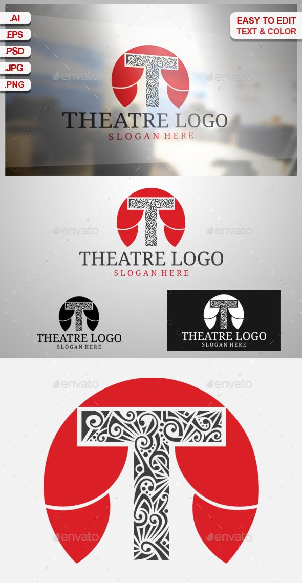 GraphicRiver Ttheatre Logo 9324017