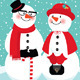 Couple of Snowmen - GraphicRiver Item for Sale