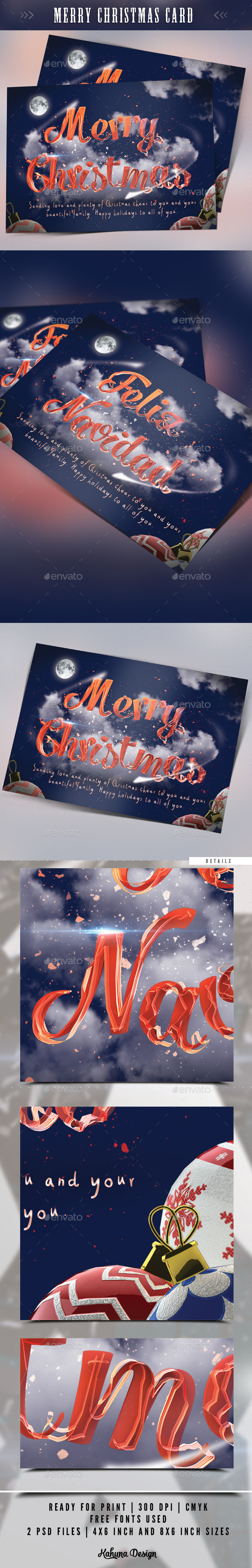 GraphicRiver Merry Christmas Card 9324059