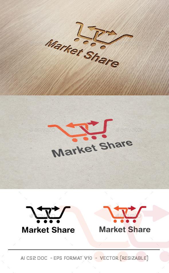 GraphicRiver Market Share V2 Logo 9324112