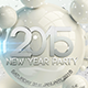 New Year Dance Party Night Flyer