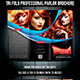 Tri Fold Professional Salon Brochure Template - GraphicRiver Item for Sale