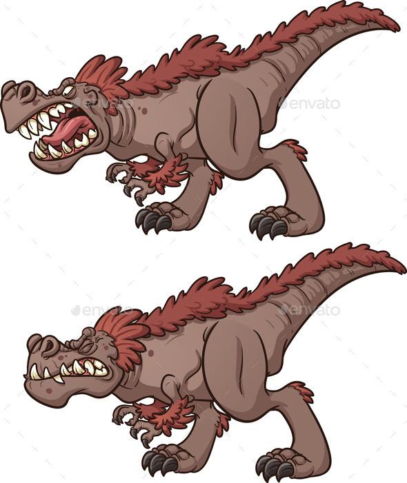 GraphicRiver Tyrannosaurus Rex 9324606