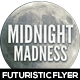 Midnight Madness Minimal Flyer Design - GraphicRiver Item for Sale