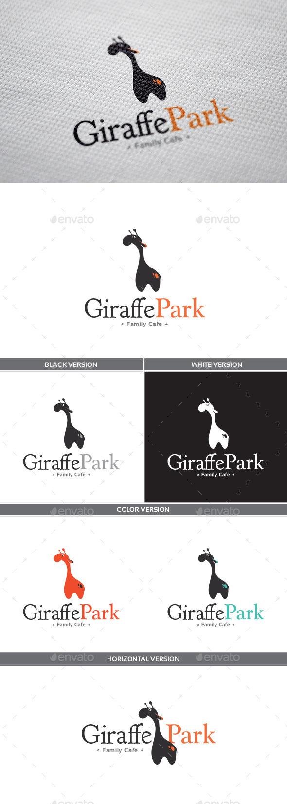 GraphicRiver GiraffePark Logo 9324708