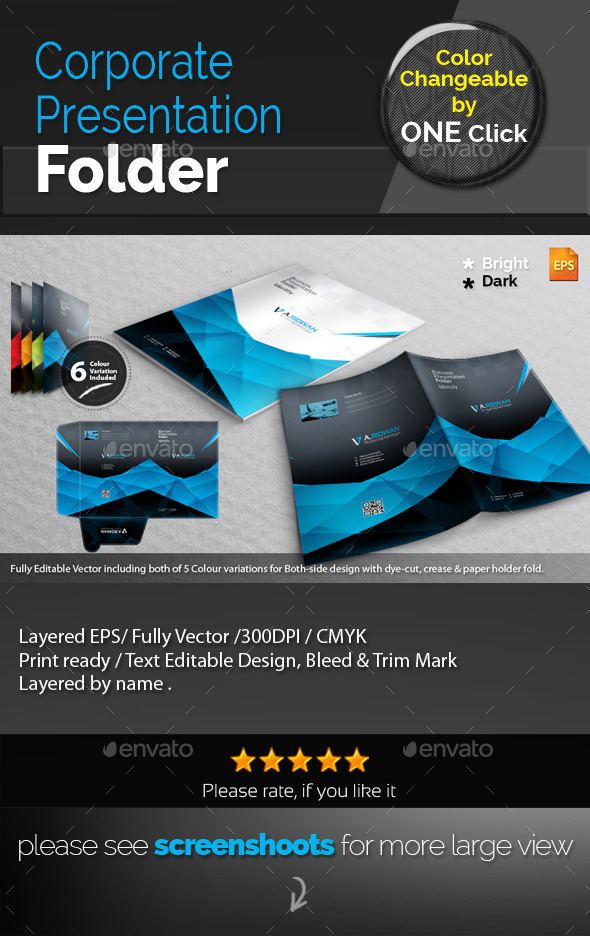 GraphicRiver Clean Creative Presentation Folder 9324710