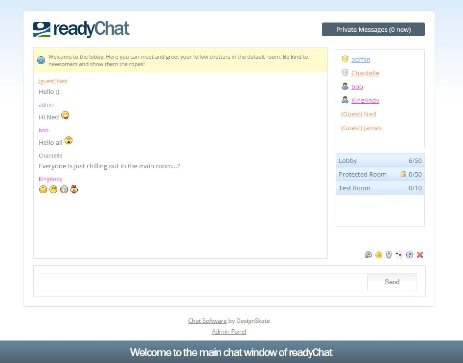 facebook live chat room readychat php ajax chat room by designskate codecanyon 16796