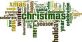 Christmas Word Cloud Concept. Vector Illustration - PhotoDune Item for Sale