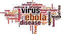Ebola Virus Word Cloud Concept. Vector Illustration - PhotoDune Item for Sale