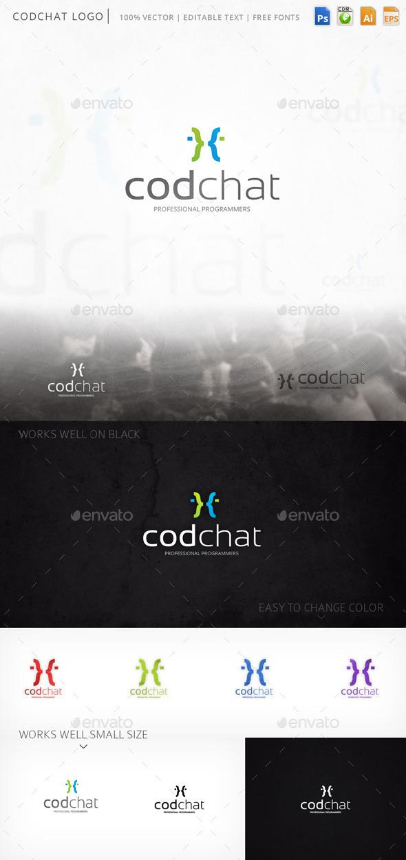 GraphicRiver Codchat Logo 9324996