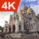 The Basilica of the Sacred Heart of Paris, Day - VideoHive Item for Sale
