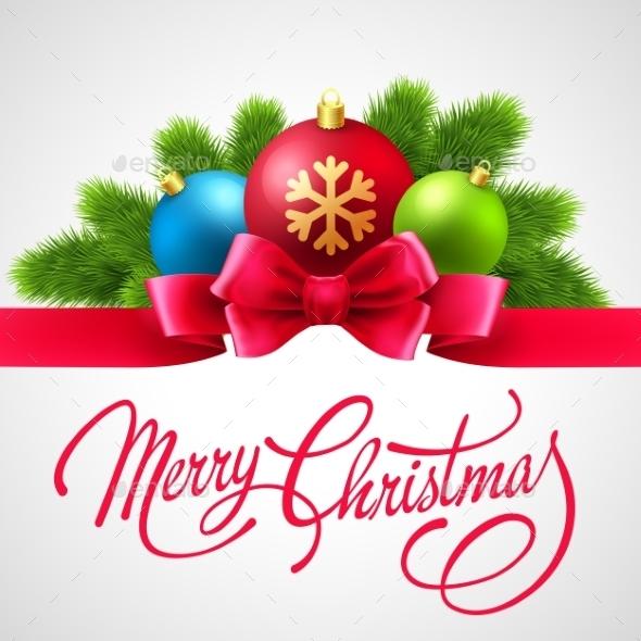 GraphicRiver Merry Christmas Card 9325052