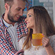 Man Hugs a Woman in Love - VideoHive Item for Sale