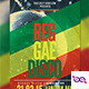 Reggae Disco Flyer - GraphicRiver Item for Sale