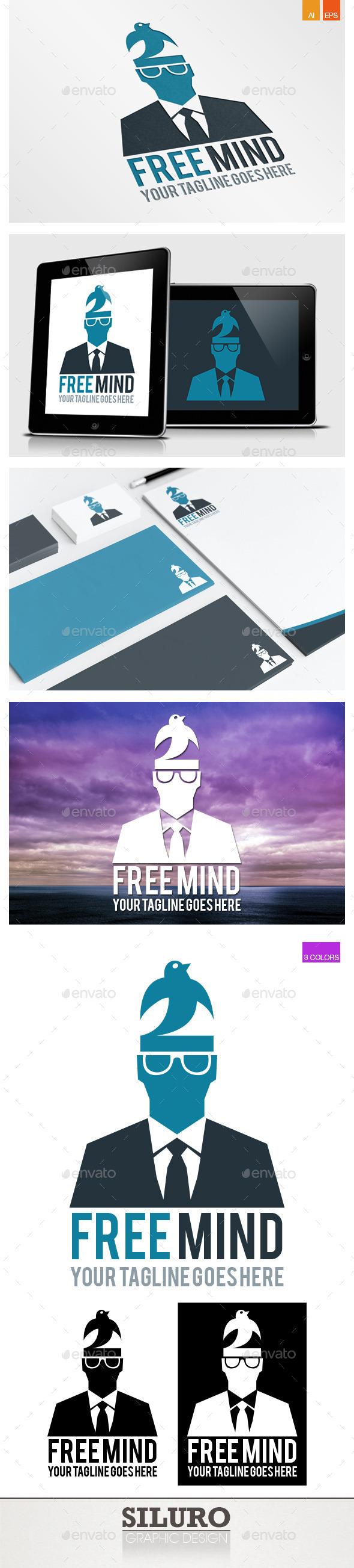 GraphicRiver Free Mind Logo 9325523