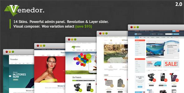 Venedor - Ultimate WordPress + WooCommerce Theme - WooCommerce eCommerce