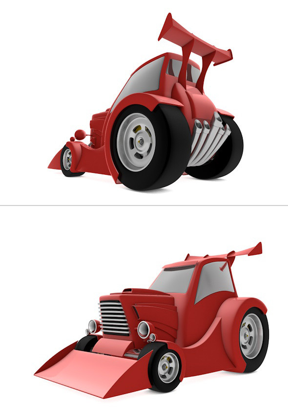 F1 Tractor - 3DOcean Item for Sale