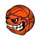 Basketball Cartoon Ball - GraphicRiver Item for Sale