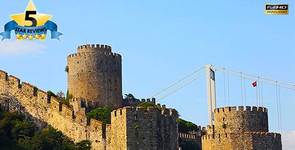Bosphorus Castle View 2