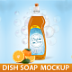 Dish Soap Bottle Mockup - GraphicRiver Item for Sale