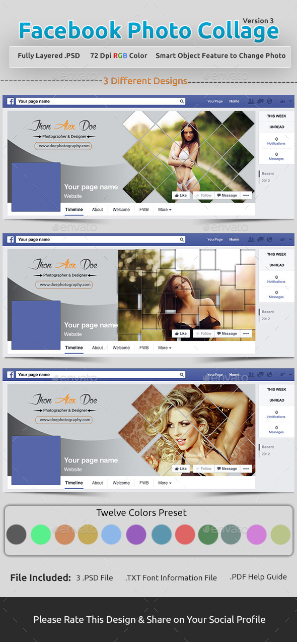 Facebook Photo Collage V3