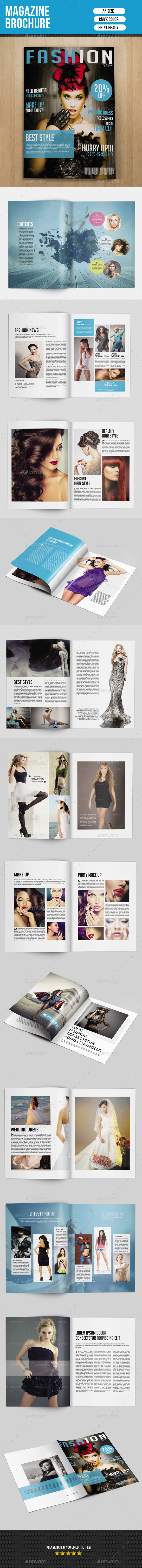 Fashion Magazine Template-V02