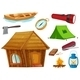 Camping Objects - GraphicRiver Item for Sale