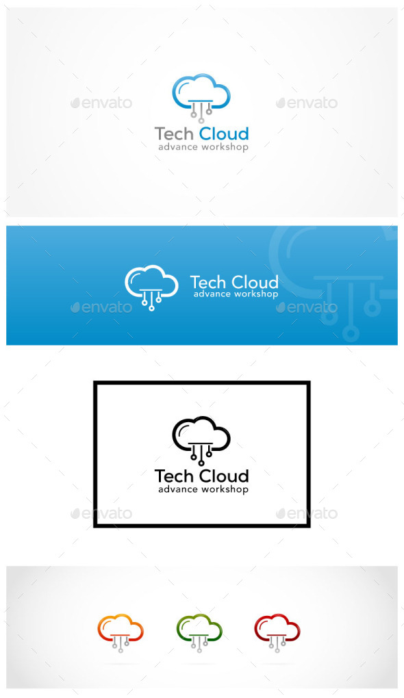 GraphicRiver Cloud Technology 9326847