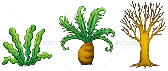 GraphicRiver Plant and Tree 9326947
