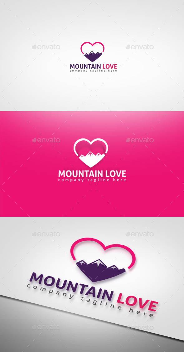 GraphicRiver Mountain Love 9327090