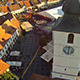 Large Square from Sibiu Aerial View - VideoHive Item for Sale