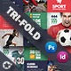 Sport Tri-Fold Templates - GraphicRiver Item for Sale