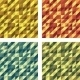 Set of Colorful Geometric Seamless Textures - GraphicRiver Item for Sale