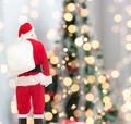man in costume of santa claus with bag - PhotoDune Item for Sale